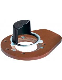 Semelle avec déflecteur de copeaux LAS-OF 1400 - Festool