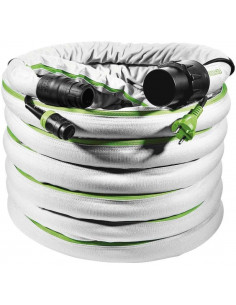 Tuyau d'aspiration plug it D 32/22 antistatique lisse D 32/22x10m-AS-GQ/CT - Festool