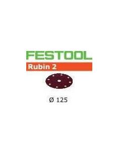 Abrasifs STF D125/8 P100 RU2/50 - Festool