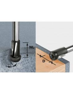 Fraise à affleurer HW avec queue de 12 mm HW D19/25 ss S12 - Festool