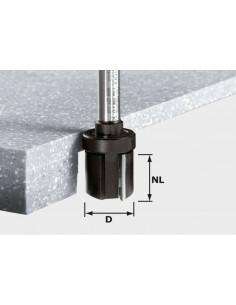 Fraise à affleurer HW avec queue de 12 mm HW D28/25 ss S12 - Festool