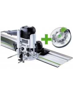 Défonceuse OF 1010 EBQ-Set + Box-OF-S 8/10x HW - Festool
