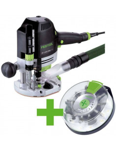 Défonceuse OF 1400 EBQ-Plus + Box-OF-S 8/10x HW - Festool
