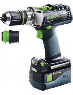 Perceuse-visseuse à percussion sans fil PDC 18/4 Li 5,2-Plus-SCA QUADRIVE - Festool