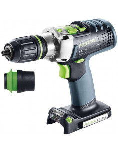 Perceuse-visseuse à percussion sans fil PDC 18/4 Li-Basic QUADRIVE - Festool