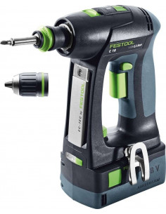 Perceuse-visseuse sans fil C 18 Li 5,2-Plus - Festool