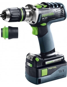 Perceuse-visseuse sans fil DRC 18/4 Li 5,2-Plus QUADRIVE - Festool
