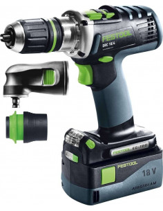 Perceuse-visseuse sans fil DRC 18/4 Li 5,2-Set QUADRIVE - Festool