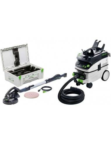 Ponceuse à bras LHS 225-IP/CTL36-Set PLANEX - Festool