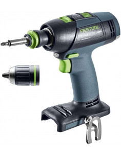 Perceuse-visseuse sans fil T 18+3 Li-Basic - Festool