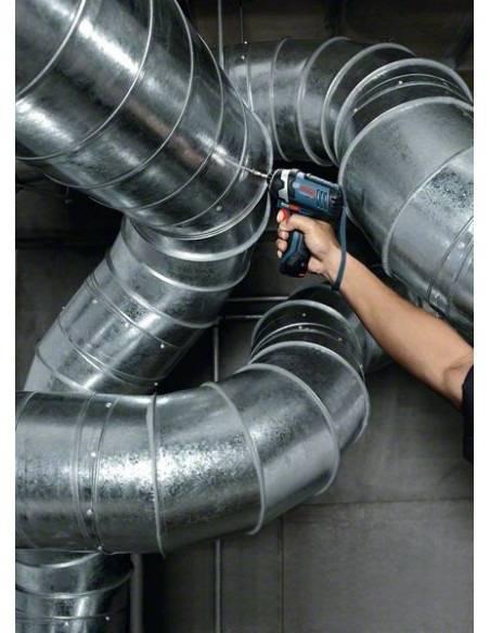 Boulonneuse à chocs sans fil GDR 12V-105, 2 batteries 2,0 Ah, L-BOXX - Bosch
