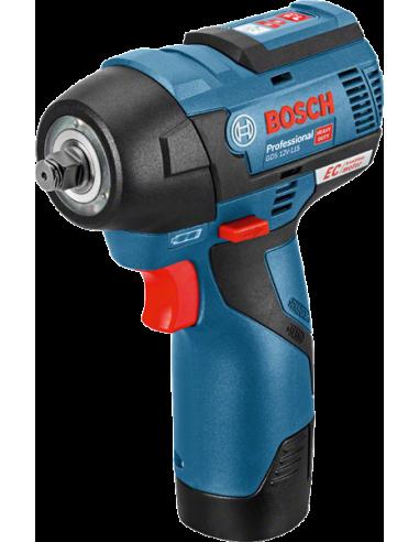 Boulonneuse à chocs sans fil GDS 12V-115, 2x3,0Ah, L-BOXX - Bosch