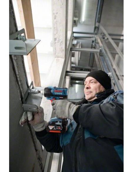 Boulonneuse à chocs sans fil GDS 18 V-EC 250, 2 batteries 5,0 Ah, L-BOXX - Bosch