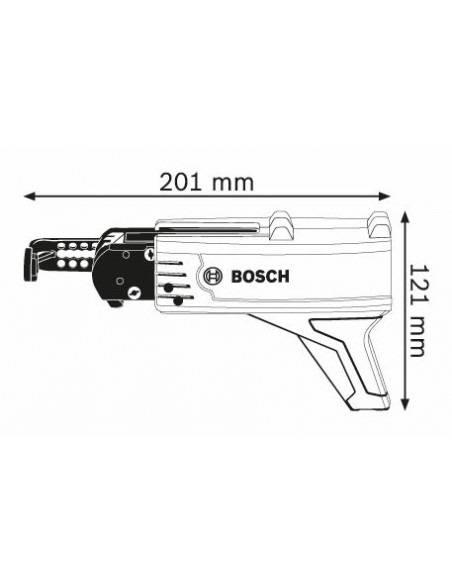 Chargeur de vis en bande MA 55 pour visseuse plaquiste - Bosch