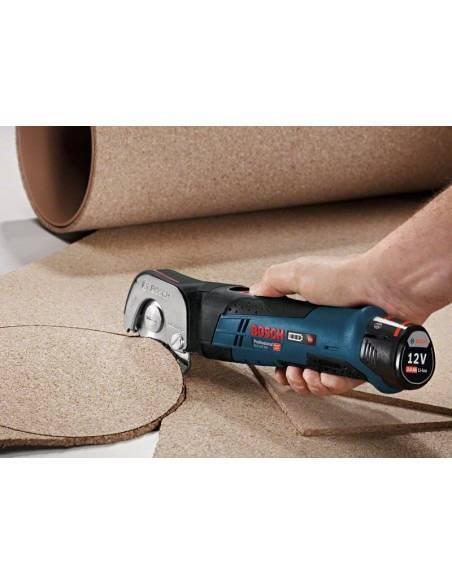 Cisaille sans fil GUS 12V-300, 2 batteries 2,0 Ah, L-BOXX - Bosch