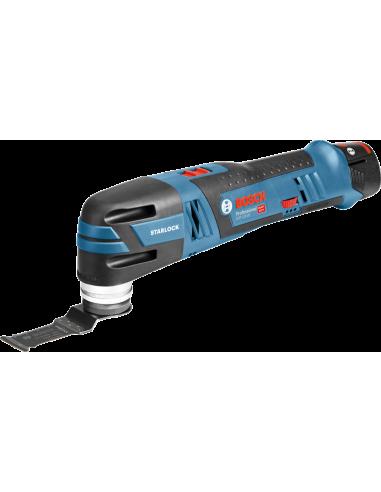 Découpeur-ponceur sans-fil GOP 12V-28, 2 batteries 3,0 Ah + accessoires L-BOXX - Bosch