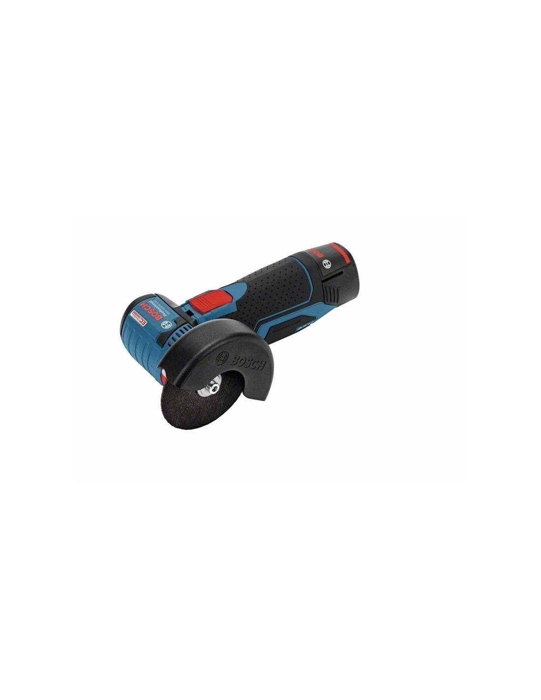 4fa904a8831369 Meuleuse sans fil GWS 12V-76 solo Click Go, L-BOXX - Bosch pas cher