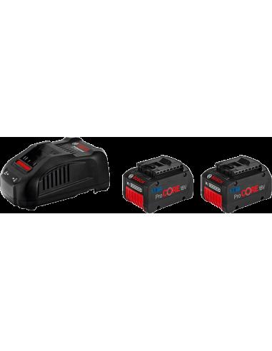Pack ProCORE 2 x ProCORE 18V 7.0Ah + chargeur GAL 1880 CV - Bosch