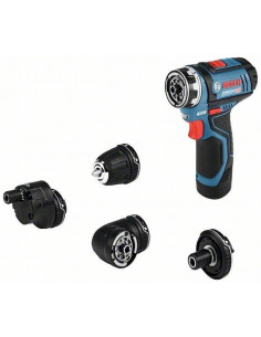 Perceuse-visseuse sans-fil GSR 12V-15 FC Flex 2 batteries 2,0 Ah, L-BOXX - Bosch
