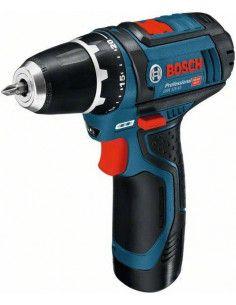 Perceuse-visseuse sans-fil GSR 12V-15, 2 batteries 2,0 Ah, L-BOXX - Bosch
