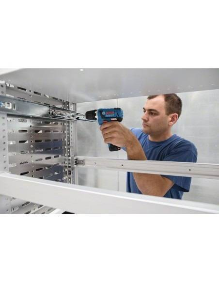 Perceuse-visseuse sans-fil GSR 12V-20 solo Click&Go, L-BOXX - Bosch