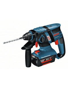 Perforateur SDS-plus GBH 36 V-EC Compact, 2 batteries 2,0 Ah L-BOXX - Bosch