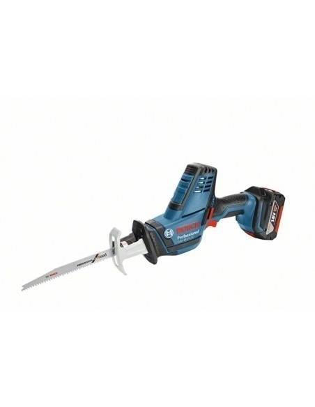 Scie sabre sans fil GSA 18 V-LI C, 2 batteries 5,0 Ah L-BOXX - Bosch