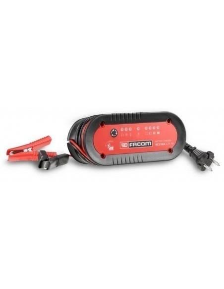 Chargeur de batteries rapide moto et VL 12 Volts - BC124A - Facom