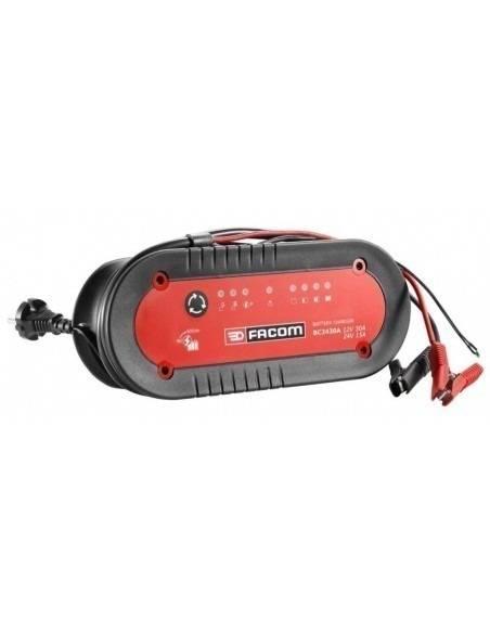 Chargeur de batteries rapide pour VUL, PL, TP, Agricole - BC2430A - Facom