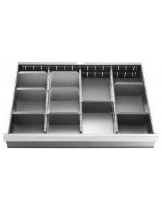 Jeu de 18 cloisons pour tiroirs de 50 et 75 mm - 2930.C1 - Facom