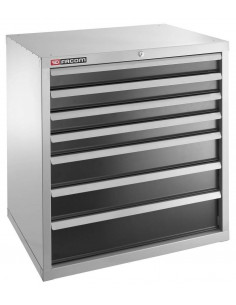 Meuble industriel charges lourdes à 7 tiroirs - 2937B - Facom