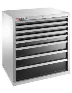 Meuble industriel charges lourdes à 8 tiroirs - 2938B - Facom