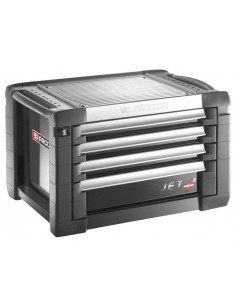 Coffres JET+ 4 tiroirs - 3 modules par tiroir - JET.C4GM3 - Facom