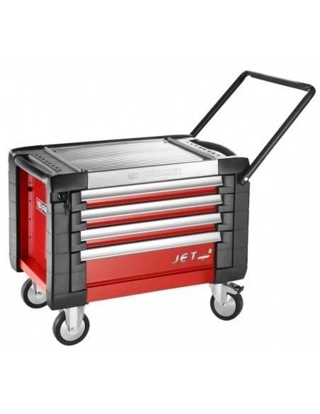 Coffres roulant JET+ 4 tiroirs - 3 modules par tiroir - JET.CR4M3 - Facom