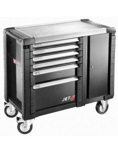 Etabli mobile JET+ 6 tiroirs - 3 modules par tiroir - JET.T6GM3 - Facom