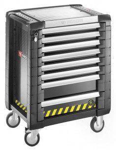 Servante JET+ 8 tiroirs - 3 modules par tiroir - gamme sécurité - JET.8GM3S - Facom
