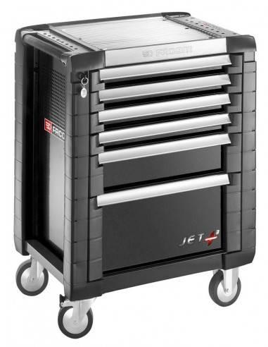 Servantes JET+ 6 tiroirs - 3 modules par tiroir - JET.6GM3 - Facom