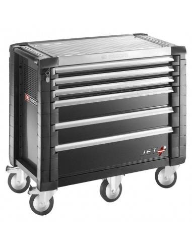 Servantes JET+ 6 tiroirs - 5 modules par tiroir - JET.6GM5 - Facom