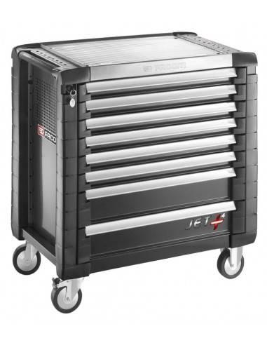 Servantes JET+ 8 tiroirs - 4 modules par tiroir - JET.8GM4 - Facom