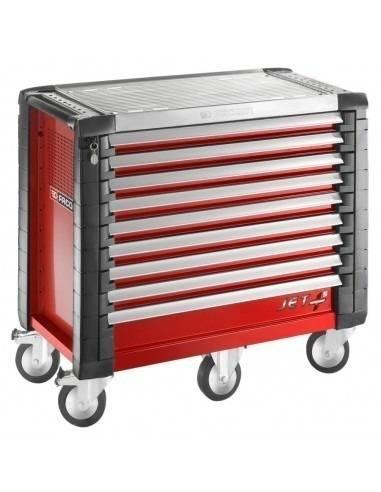 Servantes JET+ 9 tiroirs - 5 modules par tiroir - JET.9M5 - Facom