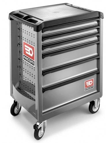 Servantes ROLL 6 tiroirs - 3 modules par tiroir - ROLL.6GM3 - Facom