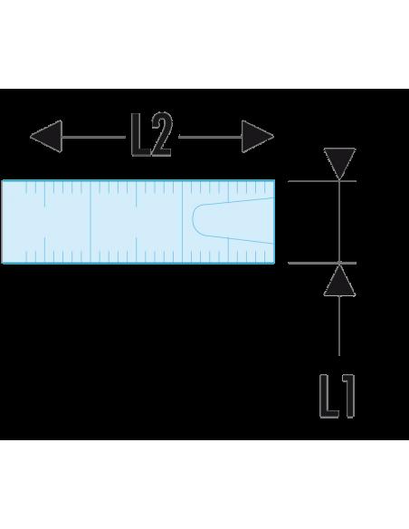 Mètre à ruban Challenger 50 m - DELA.2883.04 - Facom
