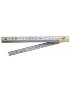 Mètre pliant Duralumin Classe III 2 mètres - 10 branches - DELA.626.00 - Facom