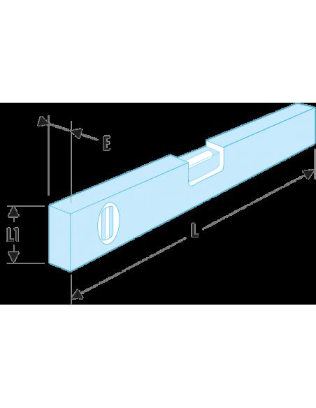 320B - Niveaux standards, 1 semelle usinée - 320B.60 - Facom