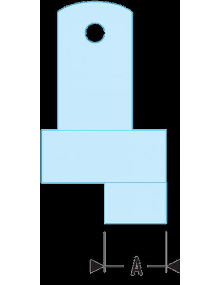 118.EC - Jeux de 2 ergots de rechange pour clé 118A - 118.EC4 - Facom