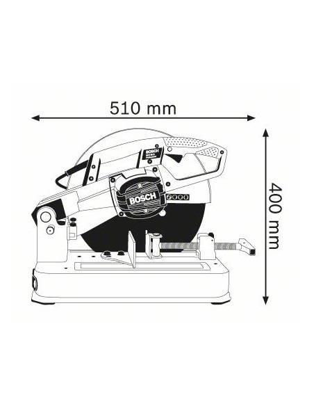 Tronçonneuse à métaux GCO 20-14 - Bosch