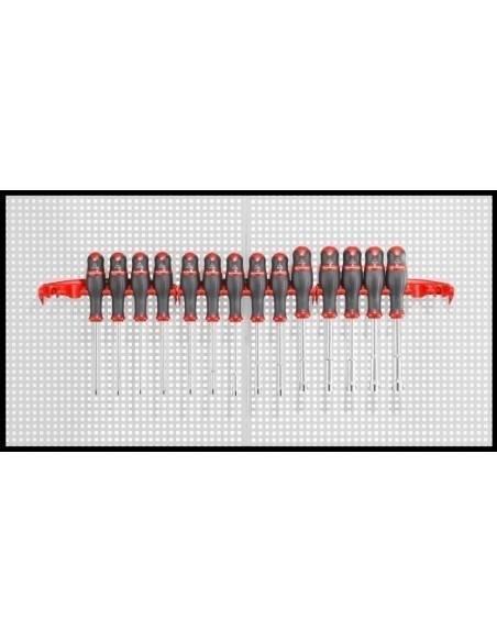 74A - Jeux de clés à douilles forgées avec poignée tournevis métriques - 74A.P14E - Facom