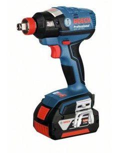 Visseuse à chocs sans fil GDX 18 V-EC, 2 batteries 5,0 Ah, L-BOXX - Bosch