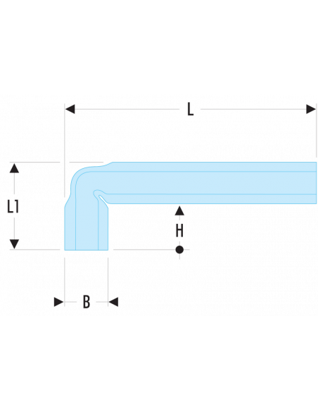 92A - Clés en tube coudées métriques - 92A.6 - Facom