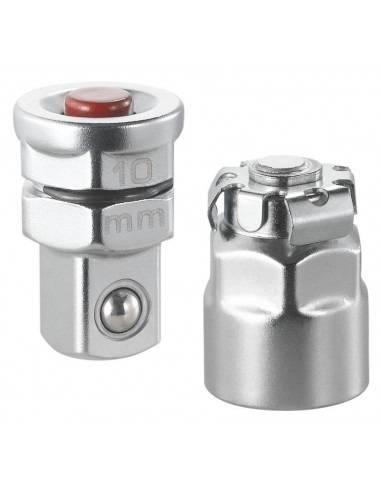 """Lot de 2 adaptateurs pour clés 10 mm vers carré 1/4"""" - 467.ADAPT10MM - Facom"""